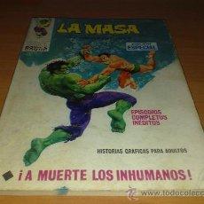 Cómics: EDITORIAL VERTICE , LA MASA Nº 8. Lote 30066255