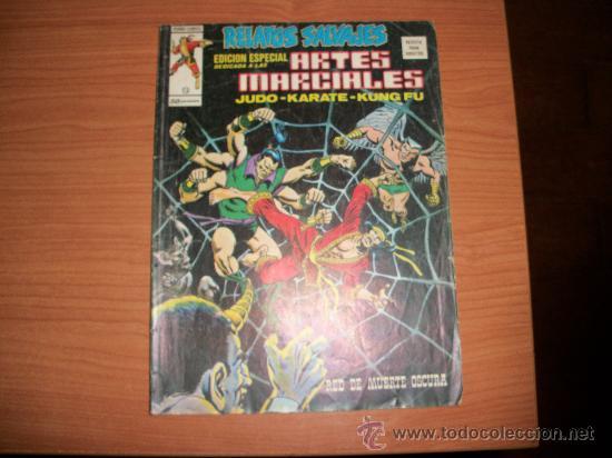 RELATOS SALVAJES ARTES MARCIALES VERTICE VOLUMEN 1 Nº 15 (Tebeos y Comics - Vértice - Relatos Salvajes)