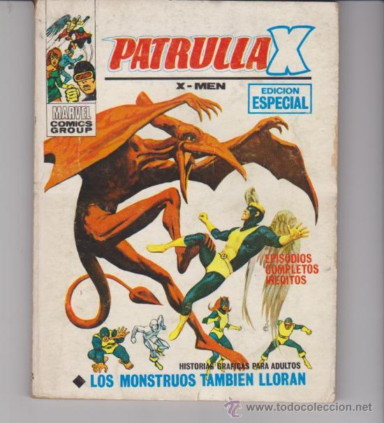 LA PATRULLA X. Nº 28. (TACO -30PTAS) VÉRTICE. (Tebeos y Comics - Vértice - Patrulla X)