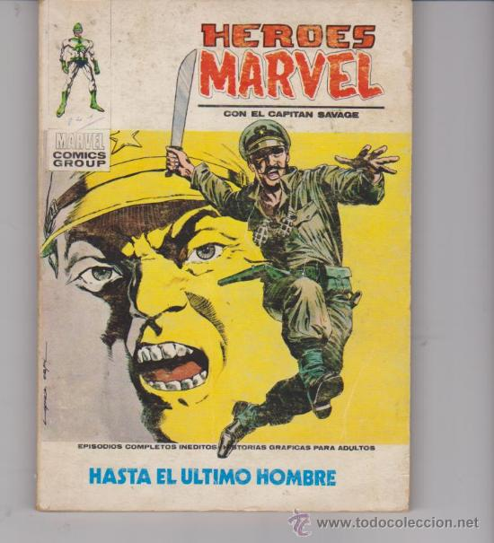 HÉROES MARVEL Nº 11. (TACO - 25 PTAS - 128 PÁGINAS) VÉRTICE. (Tebeos y Comics - Vértice - Otros)