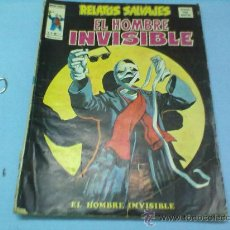 Cómics: TEBEO RELATOS SALVAJES VOL,1 Nº31 EL HOMBRE INVISIBLE EDICIONES VERTICE. Lote 30524603