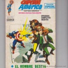 Cómics: CAPITÁN AMÉRICA Nº 8. ( TACO - 128 PÁGINAS) VÉRTICE 1969. . Lote 30528344