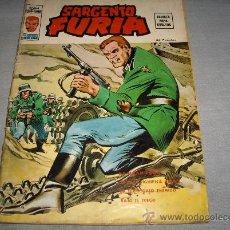 Cómics: VÉRTICE VOL. 2 SARGENTO FURIA Nº 4. 30 PTS. 1974. DIFÍCIL!!!!!. Lote 30591552