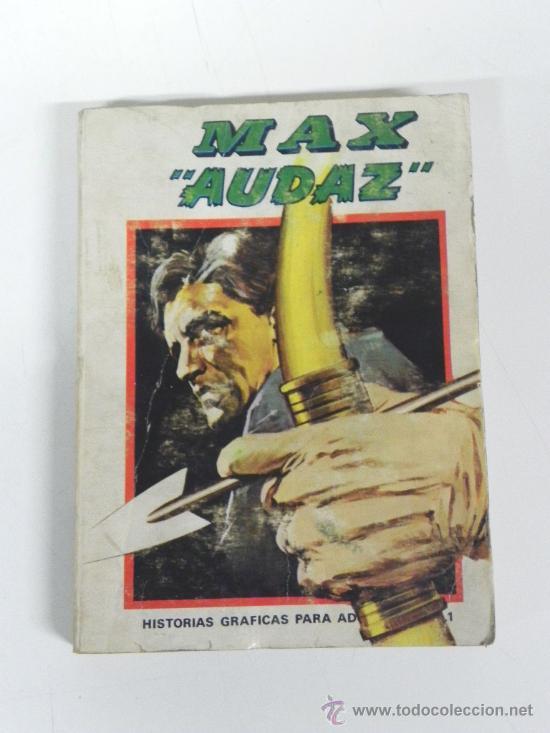 MAX AUDAZ Nº 1 (VÉRTICE 1.973) CON 320 PÁGINAS, HISTORIETAS GRAFICAS PARA ADULTOS. (Tebeos y Comics - Vértice - Otros)