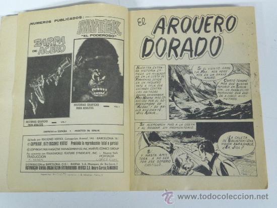 Cómics: MAX AUDAZ nº 1 (Vértice 1.973) con 320 páginas, historietas graficas para adultos. - Foto 2 - 30702449