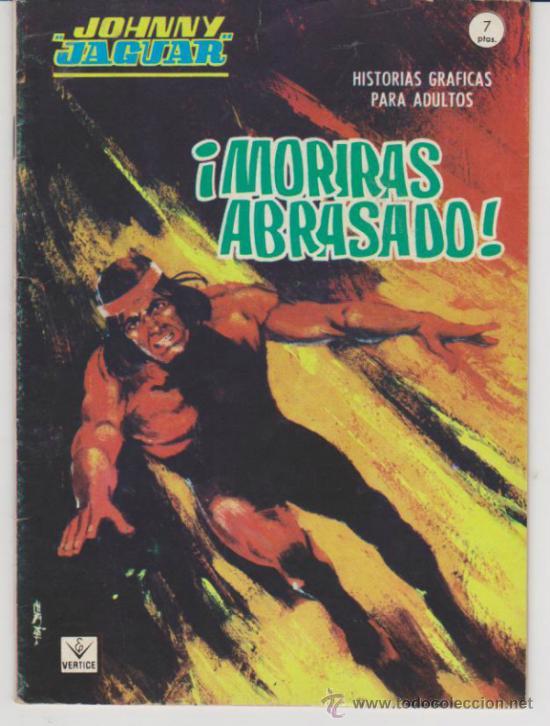JOHNNY JAGUAR Nº 3. (GRAPA - 32 PÁGINAS - 7 PTAS) VÉRTICE 1967. (Tebeos y Comics - Vértice - Grapa)