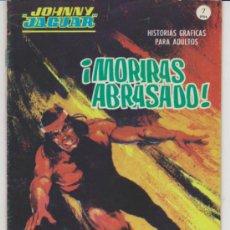 Cómics: JOHNNY JAGUAR Nº 3. (GRAPA - 32 PÁGINAS - 7 PTAS) VÉRTICE 1967.. Lote 30915361