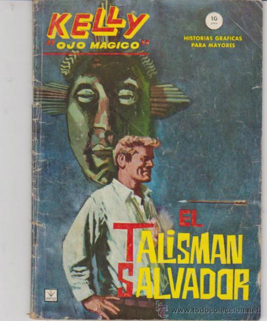KELLY OJO MÁGICO Nº 2. (GRAPA - 10 PTAS - 64 PÁGINAS) VÉRTICE 1965. (Tebeos y Comics - Vértice - Grapa)