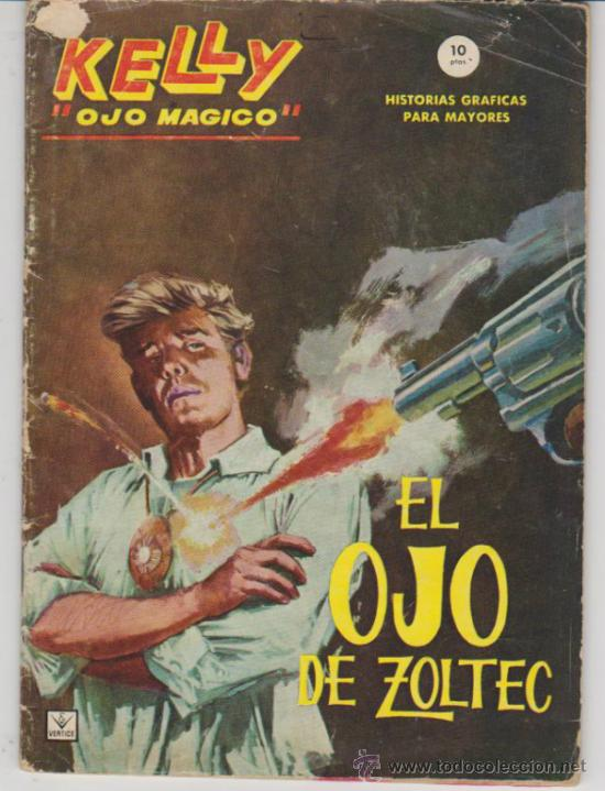 KELLY OJO MÁGICO Nº 1. (GRAPA - 10 PTAS - 64 PÁGINAS) VÉRTICE 1965. (Tebeos y Comics - Vértice - Grapa)
