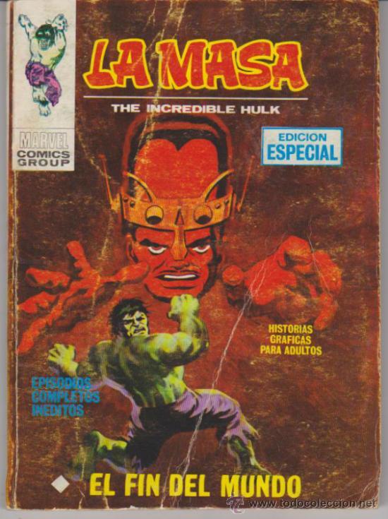 LA MASA Nº 7. (TACO 25 PTAS - 128) (Tebeos y Comics - Vértice - La Masa)