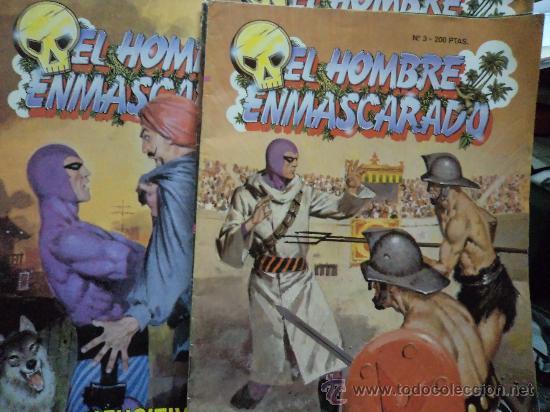 EL HOMBRE ENMASCARADO TEBEOS SA Nº SUELTOS (Tebeos y Comics - Vértice - Hombre Enmascarado)