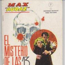 Cómics: MAX AUDAZ Nº 11. (10 PTAS - 64 PP). Lote 30994853