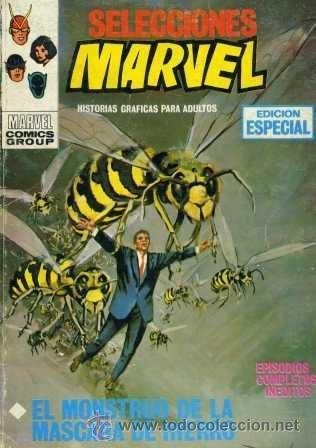 SELECCIONES MARVEL Nº16 (EDITORIAL VÉRTICE, 1970) PORTADA: LÓPEZ ESPI (Tebeos y Comics - Vértice - Otros)