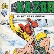Cómics: KA-ZAR Nº6 (VÉRTICE, 1973). Lote 31354118