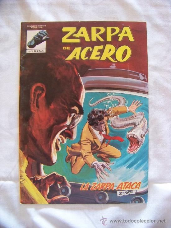ZARPA DE ACERO 5 (Tebeos y Comics - Vértice - Otros)