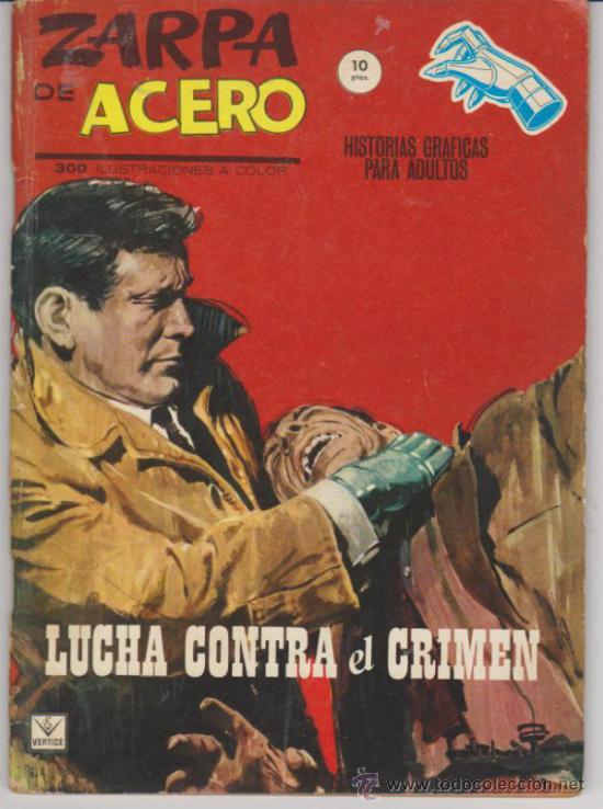 ZARPA DE ACERO Nº 3. VÉRTICE 1964 (10 PTAS - 62 PÁGINAS) (Tebeos y Comics - Vértice - Grapa)