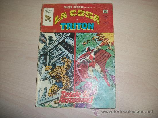 SUPER HEROES VERTICE V2 Nº 130 LA COSA Y TRITON (Tebeos y Comics - Vértice - Super Héroes)