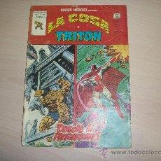 Comics: SUPER HEROES VERTICE V2 Nº 130 LA COSA Y TRITON. Lote 31570954