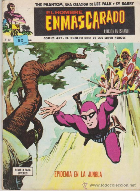 EL HOMBRE ENMASCARADO, Nº 20. VÉRTICE. (Tebeos y Comics - Vértice - Hombre Enmascarado)