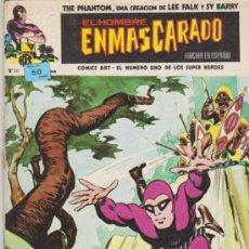 Cómics: EL HOMBRE ENMASCARADO, Nº 20. VÉRTICE.. Lote 31647856