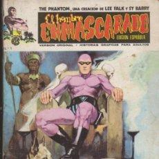 Cómics: EL HOMBRE ENMASCARADO,LOTE DE 7 EJEMPLARES ENTRE EL 1 Y 8. VÉRTICE.. Lote 31647909