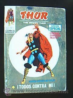 MARVEL COMICS GROUP. THOR Nº 12: ¡TODOS CONTRA MI! VÉRTICE. EDITADO EN 1971. (Tebeos y Comics - Vértice - Thor)