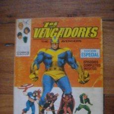 Cómics: LOS VENGADORES, VÉRTICE, VOLUMEN 1, NÚMERO 12, UN GOLIAT ENTRE NOSOTROS, AÑO 1969. Lote 31734687