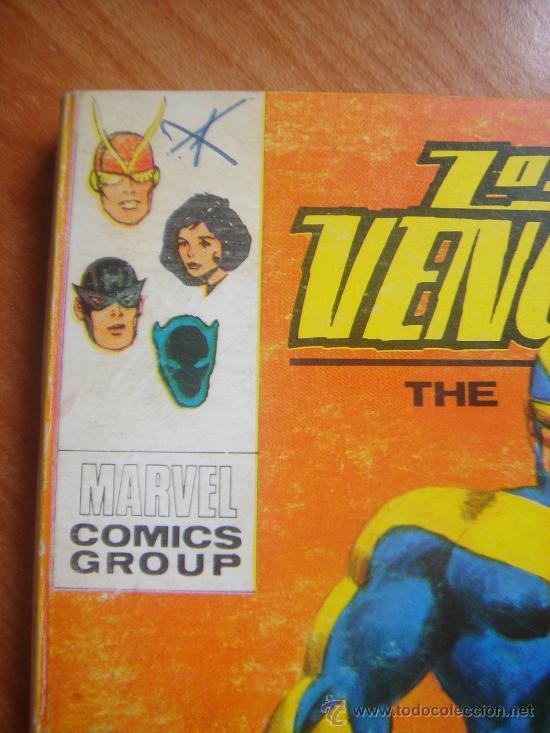 Cómics: LOS VENGADORES, VÉRTICE, VOLUMEN 1, NÚMERO 12, UN GOLIAT ENTRE NOSOTROS, AÑO 1969 - Foto 6 - 31734687