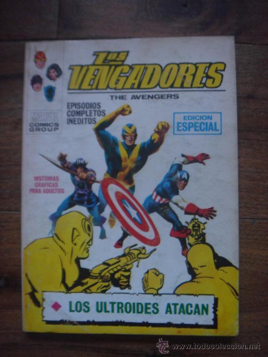 LOS VENGADORES, VÉRTICE, VOLUMEN 1, NÚMERO 16, LOS ULTROIDES ATACAN, AÑO 1969 (Tebeos y Comics - Vértice - Vengadores)
