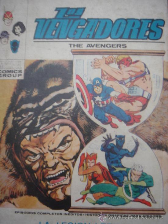 Cómics: LOS VENGADORES, VÉRTICE, VOLUMEN 1, NÚMERO 36, LA LEGIÓN LETAL, AÑO 1972 - Foto 2 - 31741426