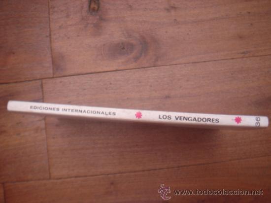 Cómics: LOS VENGADORES, VÉRTICE, VOLUMEN 1, NÚMERO 36, LA LEGIÓN LETAL, AÑO 1972 - Foto 3 - 31741426