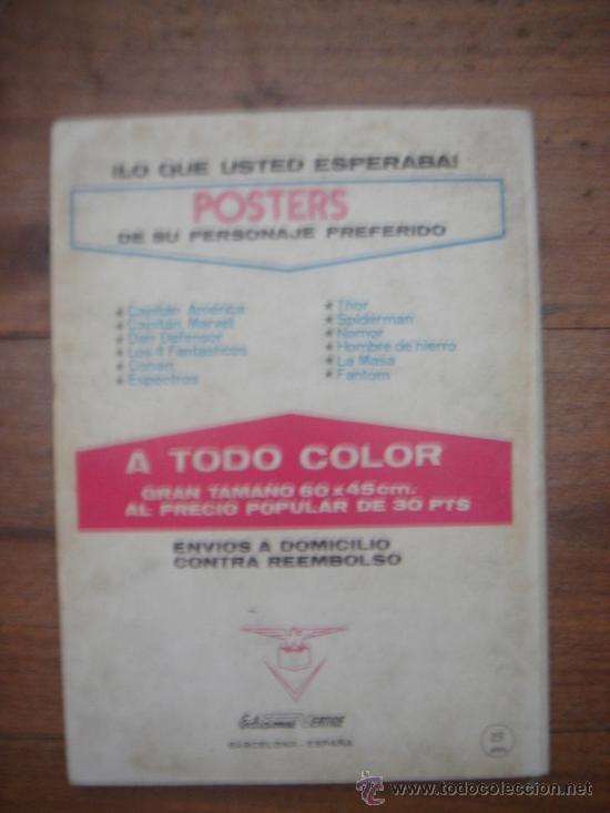 Cómics: LOS VENGADORES, VÉRTICE, VOLUMEN 1, NÚMERO 36, LA LEGIÓN LETAL, AÑO 1972 - Foto 4 - 31741426