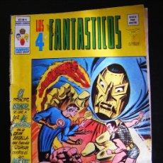 Cómics: EDICIONES VERTICE. LOS 4 FANTASTICOS. V.3-Nº 4. MARVEL COMICS GROUP. REVISTA PARA ADULTOS. 35 PTAS.. Lote 31779595