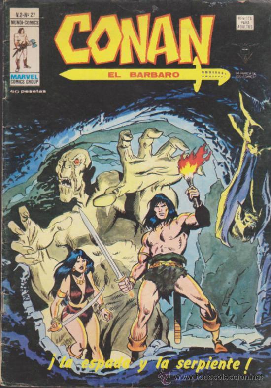 CONAN. V.2 . Nº 27. VÉRTICE. (Tebeos y Comics - Vértice - Conan)