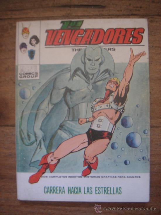 LOS VENGADORES, VÉRTICE, VOLUMEN 1, NÚMERO 42, CARRERA HACIA LAS ESTRELLAS, AÑO 1972 (Tebeos y Comics - Vértice - Vengadores)