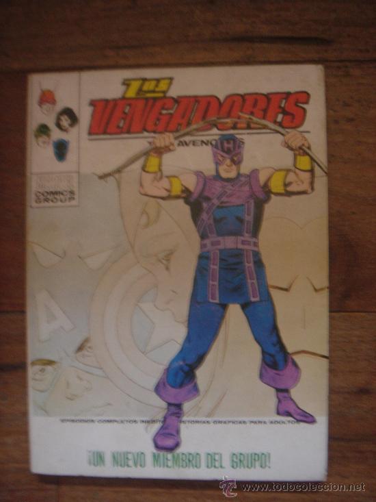 LOS VENGADORES, VÉRTICE, VOLUMEN 1, NÚMERO 51, UN NUEVO MIEMBRO DEL GRUPO, AÑO 19741974 (Tebeos y Comics - Vértice - Vengadores)