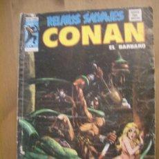 Cómics: CONAN VOL.01 Nº 40. VÉRTICE, 1974.. Lote 31801661