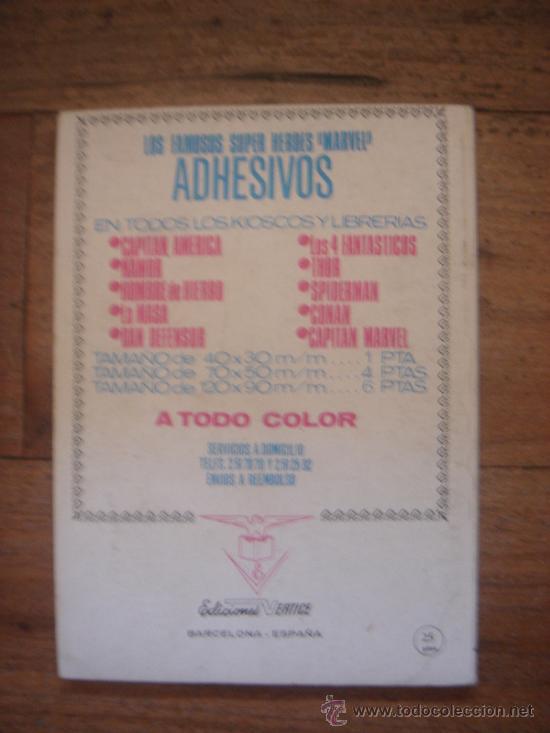 Cómics: LOS VENGADORES, VÉRTICE, VOLUMEN 1, NÚMERO 42, CARRERA HACIA LAS ESTRELLAS, AÑO 1972 - Foto 3 - 31798079
