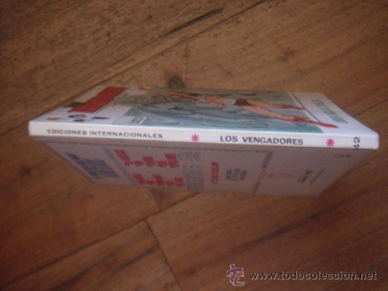 Cómics: LOS VENGADORES, VÉRTICE, VOLUMEN 1, NÚMERO 42, CARRERA HACIA LAS ESTRELLAS, AÑO 1972 - Foto 2 - 31798079
