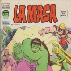 Cómics: LA MASA V.3 Nº 14. VÉRTICE.. Lote 31837540