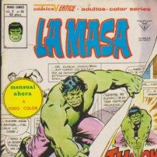 Cómics: LA MASA V.3 Nº 36. VÉRTICE.. Lote 31850247