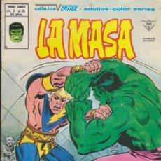 Cómics: LA MASA V.3 Nº 38. VÉRTICE.. Lote 31850417