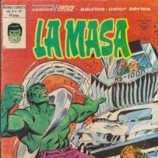 Cómics: LA MASA V.3 Nº 42. VÉRTICE.. Lote 31850564