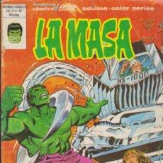 Cómics: LA MASA V.3 Nº 42. VÉRTICE.. Lote 31850584