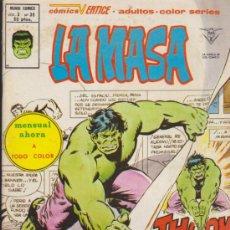 Cómics: LA MASA V.3 Nº 36. VÉRTICE.. Lote 31850636