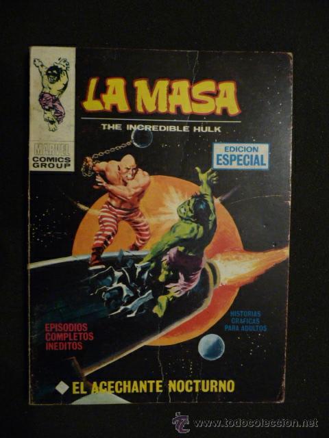 LA MASA. Nº 11. VÉRTICE. TACO. 25 PTAS (Tebeos y Comics - Vértice - La Masa)