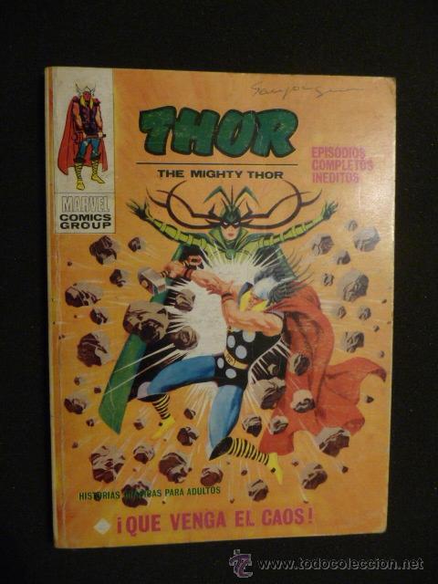 THOR. Nº 21. VÉRTICE. TACO. 25 PTAS (Tebeos y Comics - Vértice - Thor)