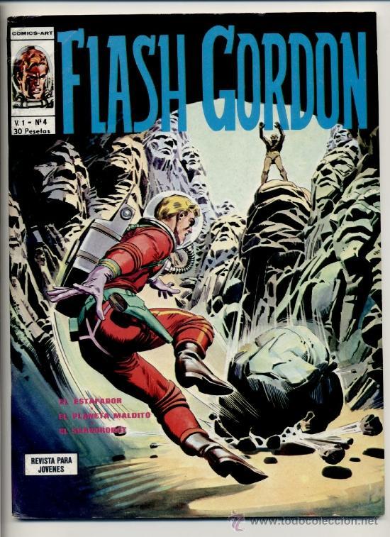 FLASH GORDON V1 Nº4 (Tebeos y Comics - Vértice - Flash Gordon)