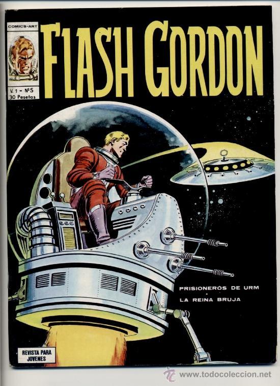 FLASH GORDON V1 Nº5 (Tebeos y Comics - Vértice - Flash Gordon)