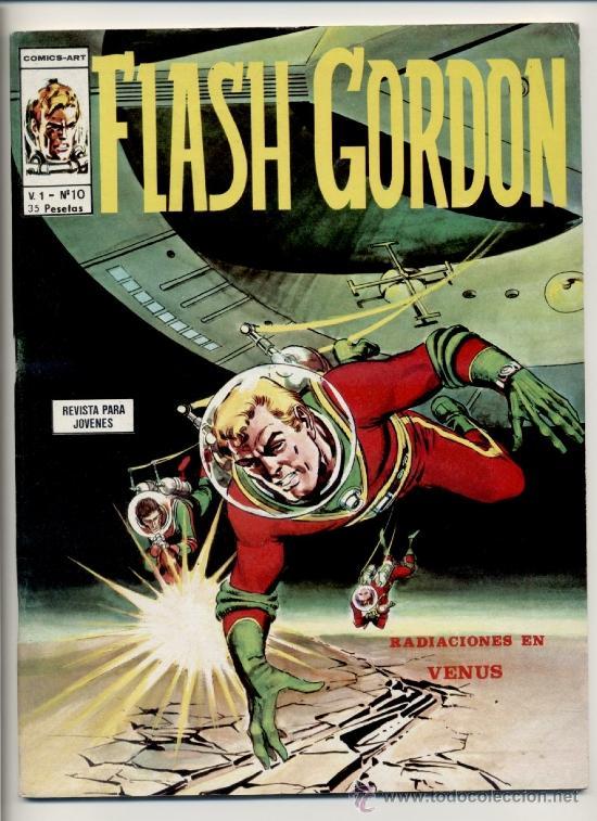 FLASH GORDON V1 Nº10 (Tebeos y Comics - Vértice - Flash Gordon)